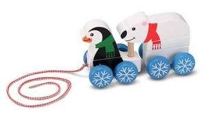 Melissa and Doug Penguin & Polar Bear Pull-Along