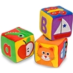 Melissa and Dog Plush ABC Blocks