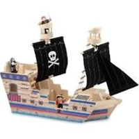 Melissa and Doug Deluxe Pirate Ship