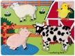Melissa and Doug Fuzzy Puzzle - Farm Friends
