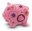 Fuzzy Piggy Bank, Paint Your Own kit, Piggy Bank for Kids, Party Favors, Party Crafts