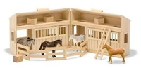 Melissa and Doug Fold & Go Stable