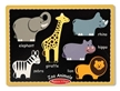 Melissa and Doug First Chunky Zoo Animal Puzzle