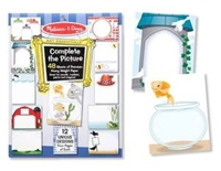 Melissa and Doug Complete the Picture Pad