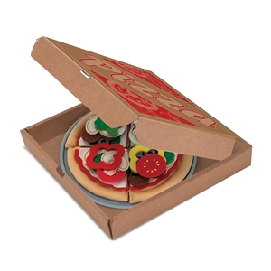 Melissa and Doug Felt Food Pizza Set