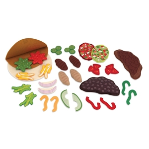 Felt Food - Taco And Burrito Set