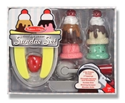 play food, pretend food, pretend ice cream set, play ice cream toy, kid pretend ice cream, pretend p