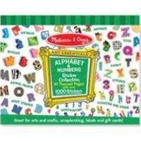 Melissa and Doug Alphabet & Number Sticker Collection