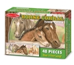 Melissa and Doug Horse Corral Floor Puzzle 48 pcs