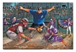 Melissa and Doug Close Call! Baseball Floor Puzzle - 48 Pieces