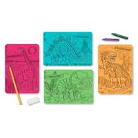 Melissa and Doug Textured Stencils - Dinosaurs