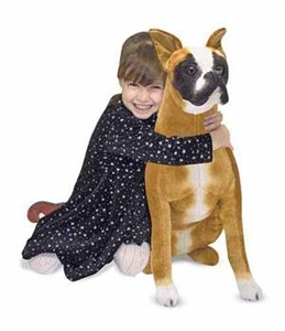 Melissa & Doug Large Stuffed Boxer