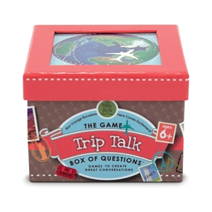 Melissa & Doug The Box Girls Trip Talk Box of Questions