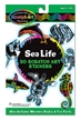 Sea Life Scratch Art Stickers