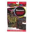 Melissa and Doug Dinosaur Scratch Art Color-Reveal Pictures