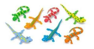 Melissa and Doug Litter of Lizzards