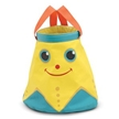 Cinco Starfish Collapsible Bucket, Kids Sand Bucket, Kids Beach Toys, Sunny Patch Toys, Water Bucket