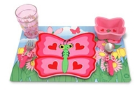 Bella Butterfly Mealtime Set by Melissa and Doug