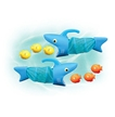 Melissa and Doug Spark Shark Fish Hunt Pool Toy