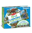 4 in 1 Linking Dinosaur Floor Puzzle | Melissa and Doug