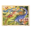 Dinosaur Wooden Jigsaw Puzzle | Melissa and Doug | 24 Pieces