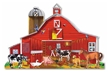 Melissa and Doug Farm Friends 32 Piece Floor Puzzle