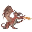 Papo Fantasy 2 Headed Dragon-Red Toy Model
