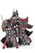 Papo Fantasy Dark Butterfly Warrior & Horse Toy Model