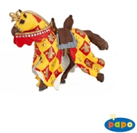 Papo Crossbowman's Horse-Red