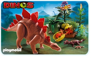 Playmobile Stegosaurus