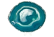 Medium Agate Slab Polished- Teal