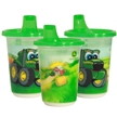 John Deere Insulated 9 oz. Sippy Cup Set of 3