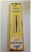 Large Original Vintage Metal Pepsi Thermometer Scioto Signs Kenton D 70