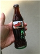 Collectible 1995 Christmas Coca Cola Bottle 8 Oz ACL Unopened
