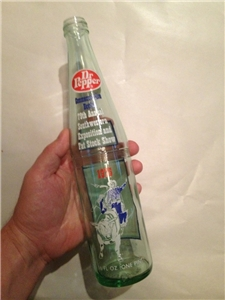 1975 Dr Pepper 79Th Southwestern Stock Show Bottle Grand Champion Steers