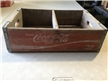 Vintage Coca Cola Wood Crate Carrier For 32 Oz Bottles