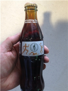 Olympic Atlanta 1996 Collectible Unopened Coca Cola Bottle