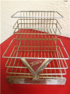 Vintage Toms Metal Display - Good Toms Sign Collectible