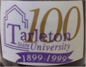 Collectible Tarleton State University ACL Coca Cola Coke Bottle Stephenville Tx