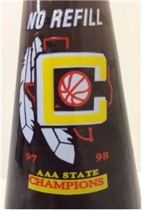 Collectible Comanche Texas State Champions Dr Pepper Soda Bottle ACL