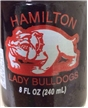 Collectible Hamilton Tx Bulldogs Stare Champs Dr Pepper Soda Bottle 1998