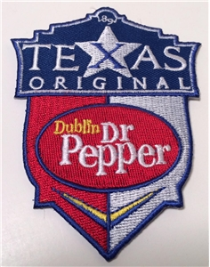 Dublin Dr Pepper Texas Original Shield Patch Collectible