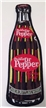 Dublin Dr Pepper Bottle Shape Patch Collectible