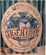 Vintage Old Tiger Grip Consumers Glue Co St Louis Mo Metal Tin Gallon Can Full