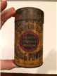 Old Vintage Clevlends Baking Powder Tin Metal Can Collectible Advertising 1/2 Lb
