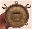 Old Vintage Ford Metal / Glass Speedometer Odometer 88108 12,