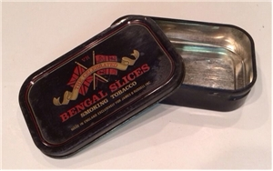 Old Vintage Bengal Smoking Tobacco Tin Can Collectible James B Russell NJ