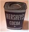 Old Vintage Hersheys Cocoa Tin Can Collectible