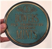 Old Vintage Bowers Chas Mint Candy Metal Tin Collectible