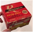 Old Vintage Remington Shur Shot Shotgun Shells Box Hunting Decor